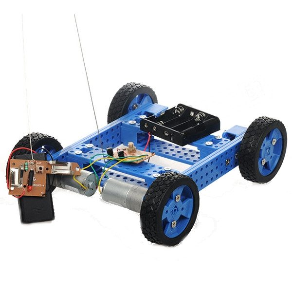 Armored Tracked Tank DIY Smart Car Kit With Remote Control