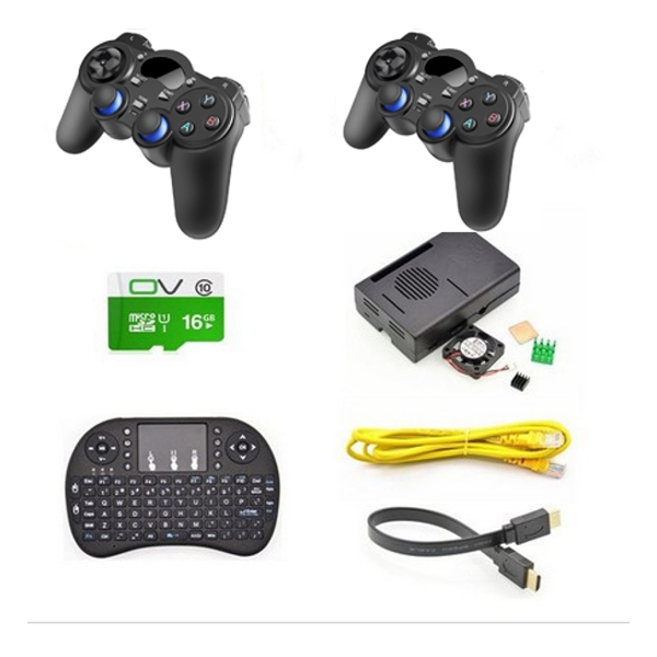 Game Console Wireless Controller Gamepad Kit For Raspberry