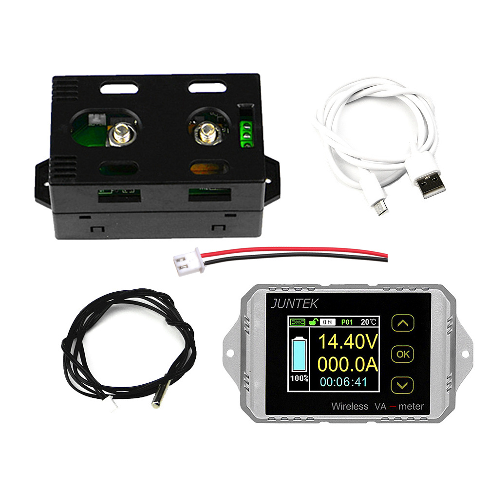 VAT1300 Wireless DC Voltmeter Current Tester Watt