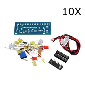 A sixx Female Terminal Connector Kit Jumper Wire Pin 610Pcs Housing Connector Kit Copper Coated with Zinc for Home Electronics Prototyping DIY Projects