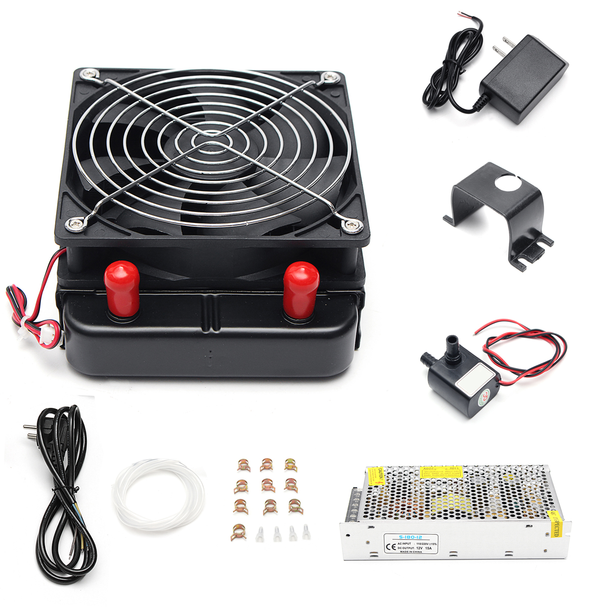 DC 12V Peltier Semiconductor Cooler DIY Kit For Refrigeration Air
