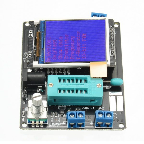 LCD GM328A Transistor Tester ESR Meter Frequency Square Wave Generator